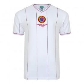 Camisola retro Aston Villa 1982 Final da Taça dos Clubes Campeões Europeus