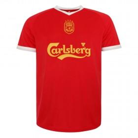 Camisola retro Liverpool FC 2001-03