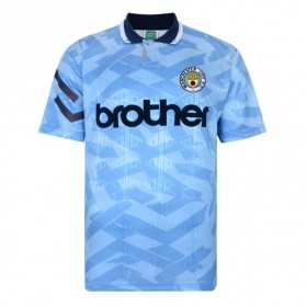Camisola retro Manchester City 1992