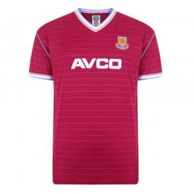 Camisola West Ham 1985/86