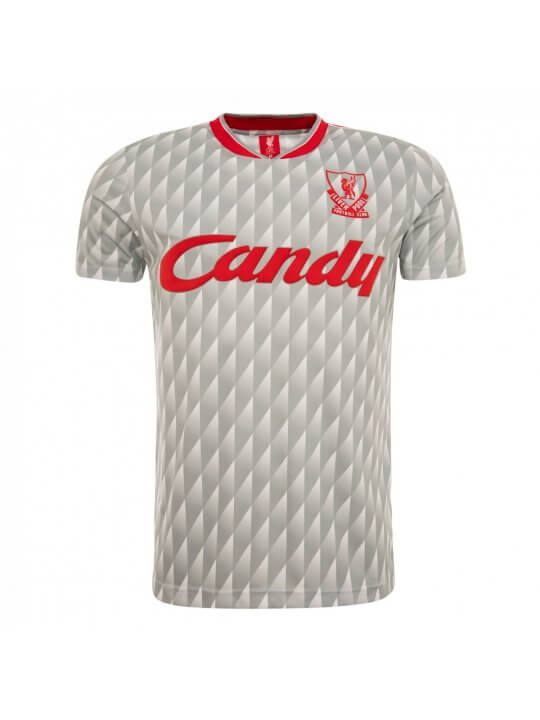 Camisola Liverpool 1989/90 | Away