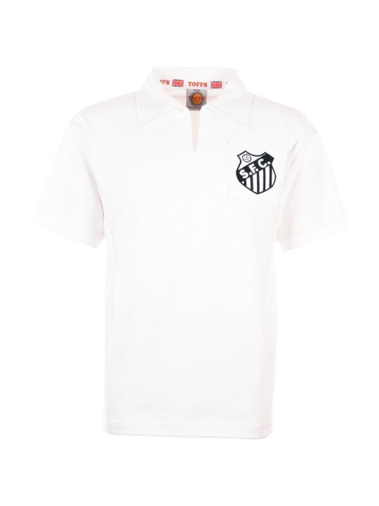 Camisola retro Santos anos 60-70