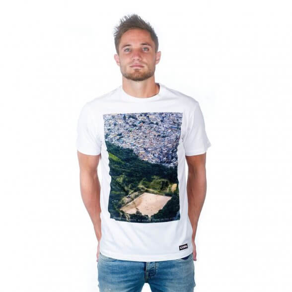 Ground From Above T-Shirt   White