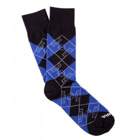 Argyle Football Pitch | Black-Blue-White